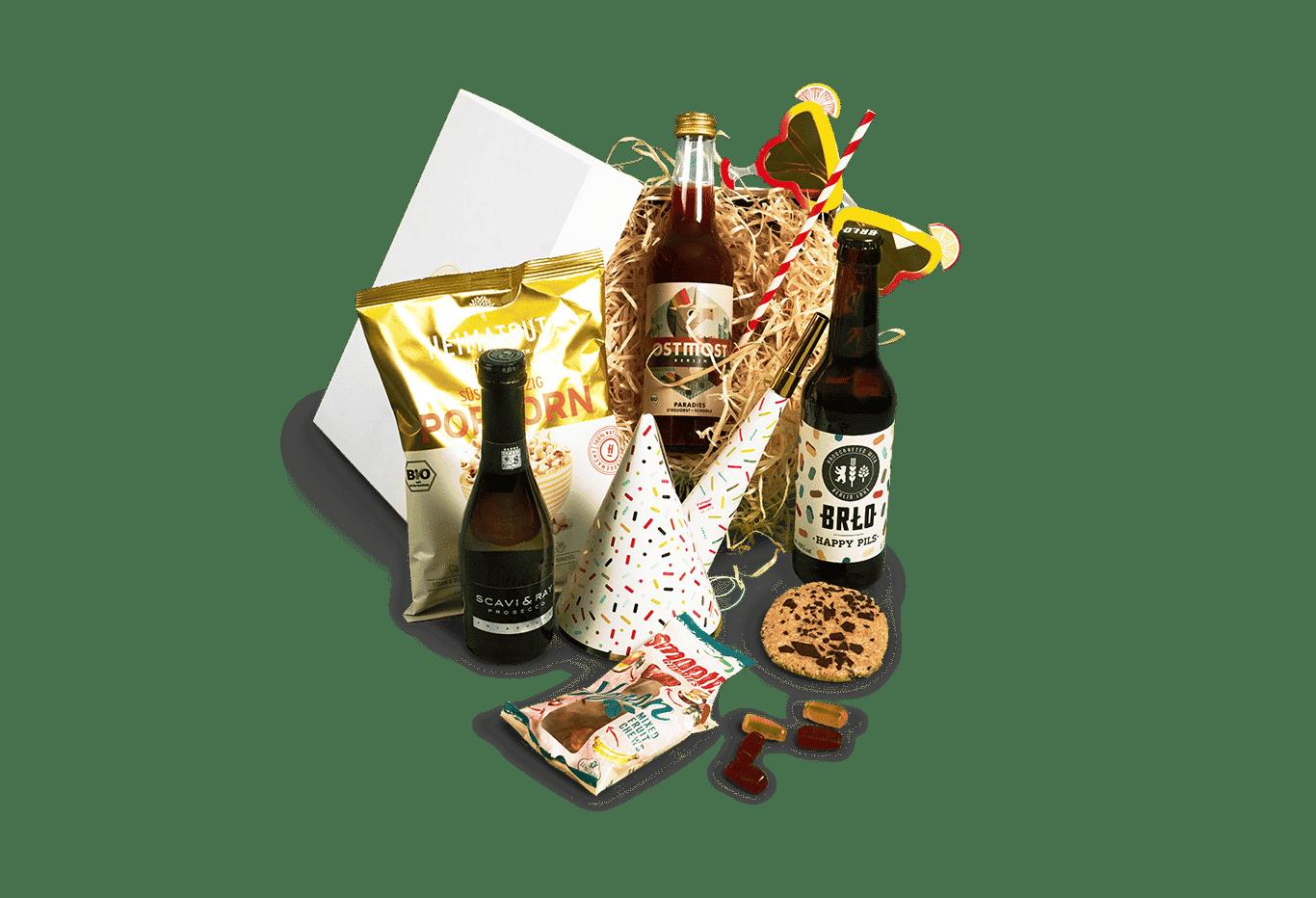 Online Event Celebration Box